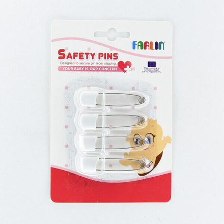 Farlin Safety Pins 4Pcs