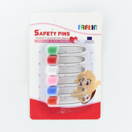 Farlin Safety Pins 6Pcs