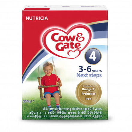 Cow & Gate Milk Powder Next Steps  350g