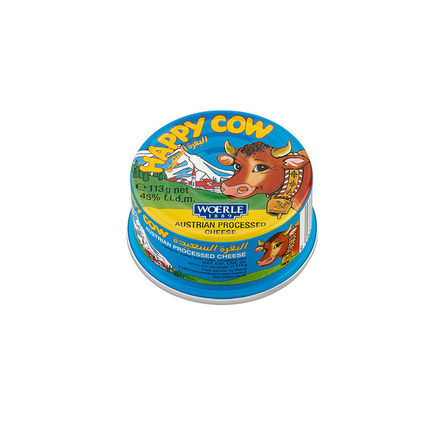 Happy Cow Cheese Can 340g
