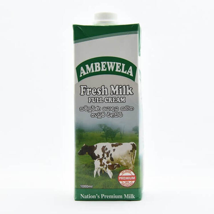 Ambewela Fresh Milk Plain 1L