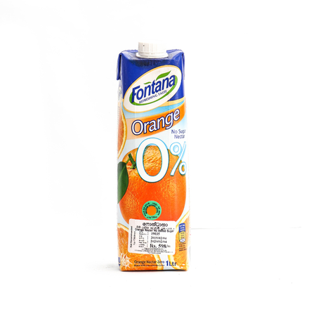 Fontana Orange Juice 100% Natural 1L