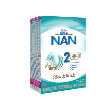 Nestle Nan 2 HMO Follow Up Formula, 350g
