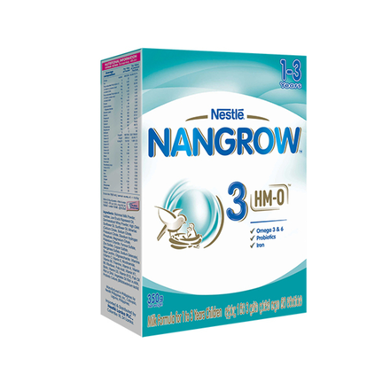 Nestle NANGROW 3 HMO Milk Formula, 350g
