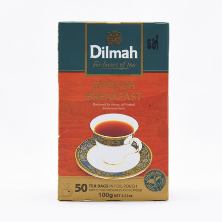 Dilmah Tea English Breakfast Bag 50s 100g