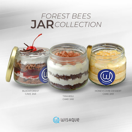 Forest Bees Jar Collection