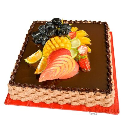 Chocolate & Fruit Gateaux