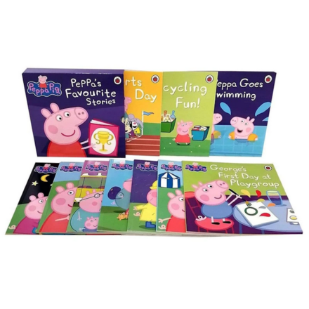 Peppa's Favourite Stories 10 Books Box Collection