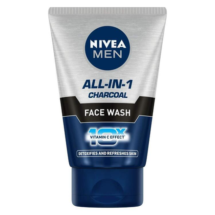 Nivea Men All In One Charcoal Face Wash