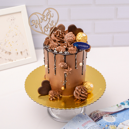 Chocolate Carnival Mini Tall Cake