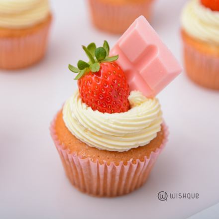 Pinkberry White Chocolate Cupcake