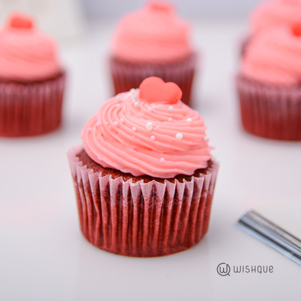 Red Velvet Creamcheese Cupcake Box Of 6