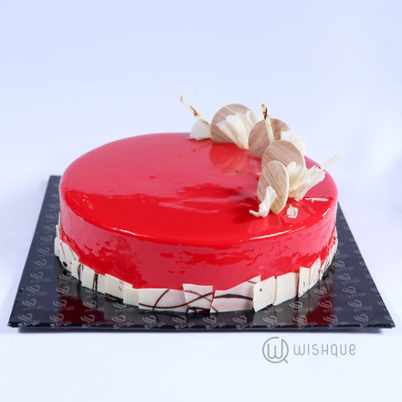 Star Mousse Cake
