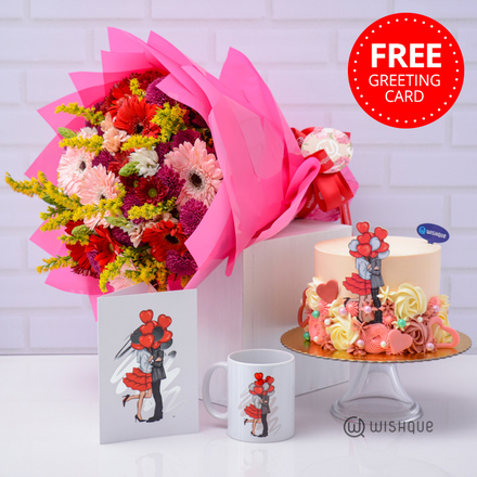 Love Blossoms Gift Set