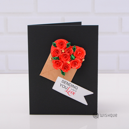 Sending You Lots Of Love Greeting Card