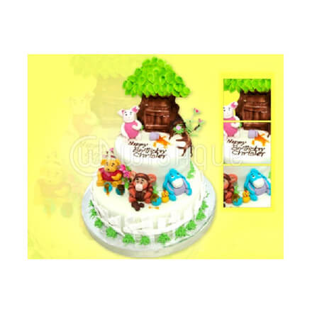 Winnie the Pooh & Pals Tree Home Birthday Party