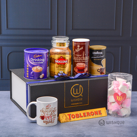 Hot Chocolate With Cadbury & Lavazza DIY Hamper