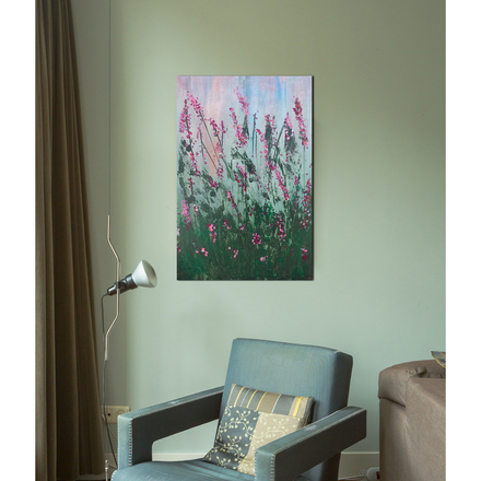 The Beauties Of The Nature Hand-Painted Abstract Wall Art