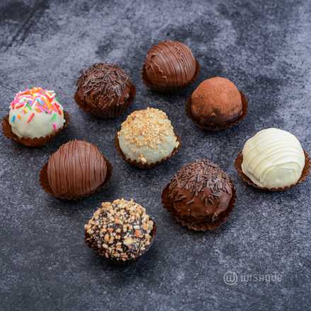 Cake Truffles Collection 9pcs