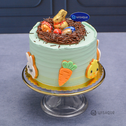 Lindt Gold Bunny Chocolate Cake