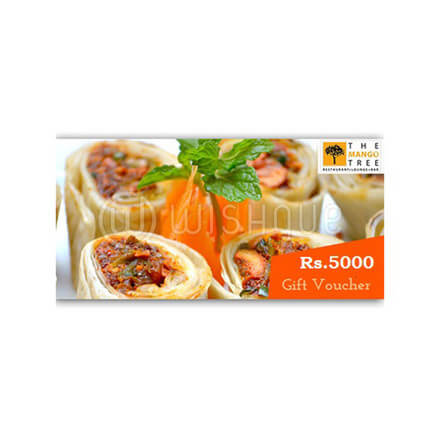 Mango Tree Gift Voucher Rs.5000