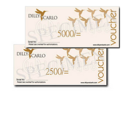 Dilly & Carlo Gift Voucher