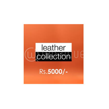Leather Collection Gift Voucher Rs.5000