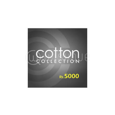 Cotton Collection Gift Voucher Rs.5000