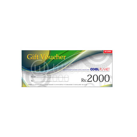 Cool Planet Gift Voucher Rs.2000